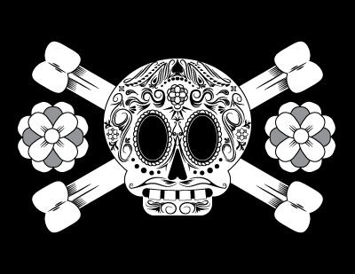 Candy Skull-&-Cross Bones