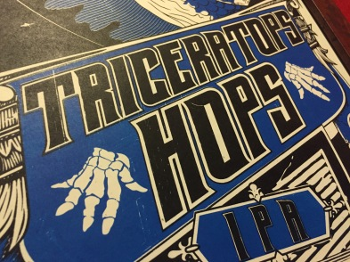 Triceratops Hops Title