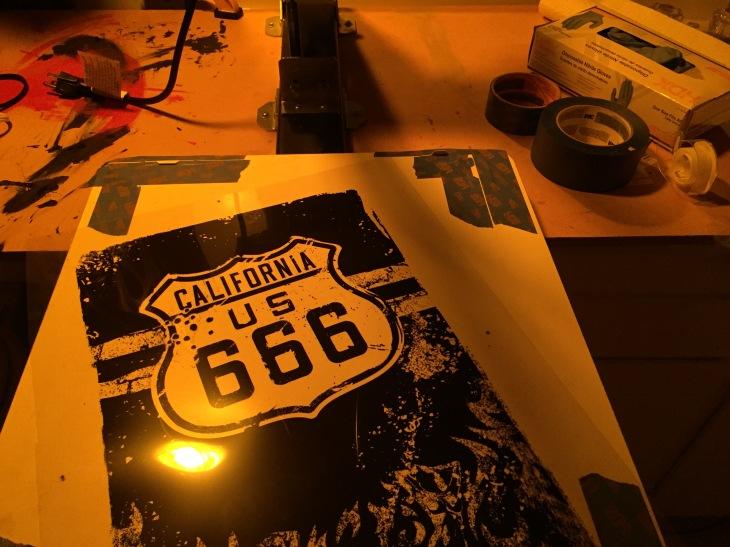 Hwy 666 Step 1