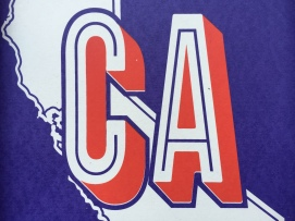 California Clean Print Detail