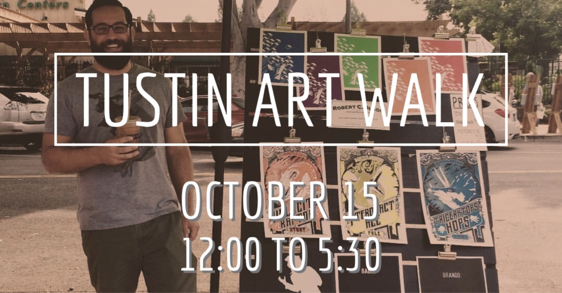 Tustin Art Walk 2016