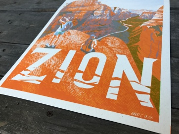 Zion poster title detail