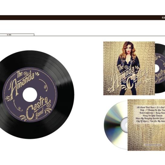 Amand Castro Album Mockup