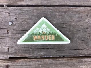 Wander sticker by RC Olson