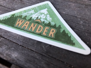 Wander sticker detail 1