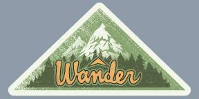 Wander Sticker Alternative Type