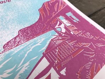 Crystal Cove Sunset Series Print 2