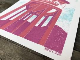 Santa Ana Water Tower Sunset Series Print 3