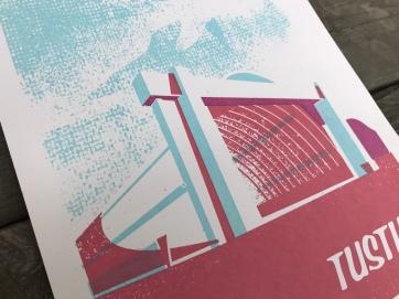 Tustin Hangars Sunset Series Print 2