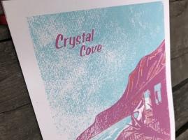 Crystal Cove Sunset Series Print 3
