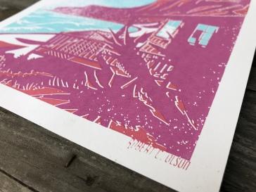 Crystal Cove Sunset Series Print 1