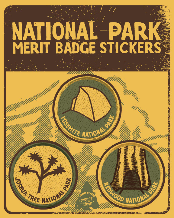 National Park sticker pack alt 1
